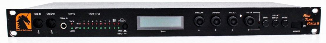 Motu Digital Timepiece Manual