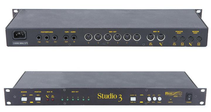 MIDI Interfaces connecting via Serial (without audio i/o)